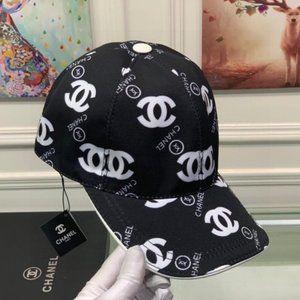 New Chanel Ladies Baseball Hats Cap Black